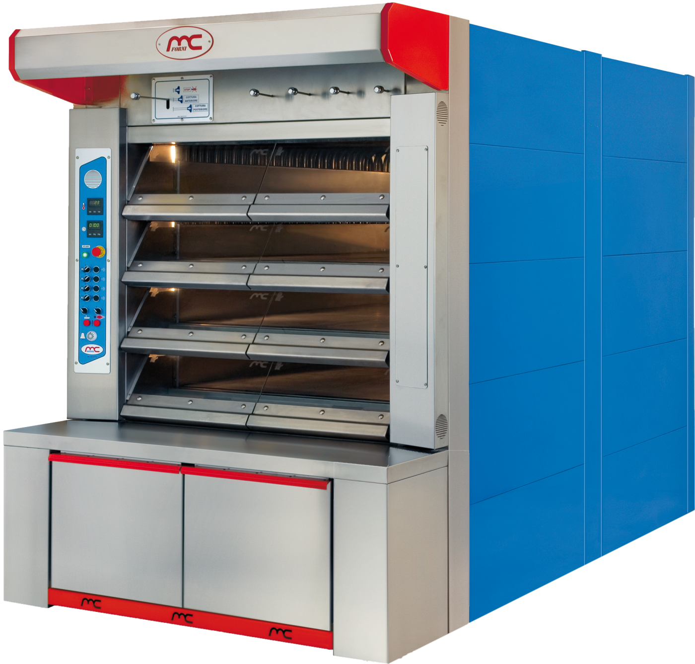Steam tube ovens for breadmaking